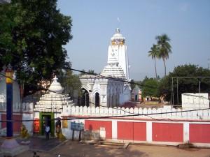 Front view of Shri Shri Haribaladev Jew temple