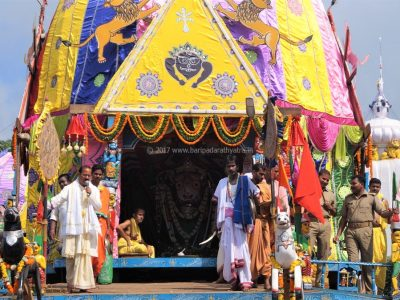 1274Rathyatra-2017 |Day-2|Pulling of Chariots-Phase-I