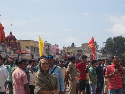1274Rathyatra-2017  Day-2 Pulling of Chariots-Phase-I