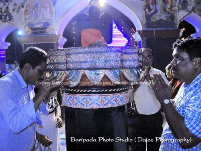 1436Pulling of Chariot of Banthia Jagannath temple-16th July 2018